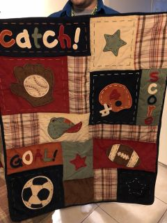 NoJo Sports Theme Crib Bedding and more...