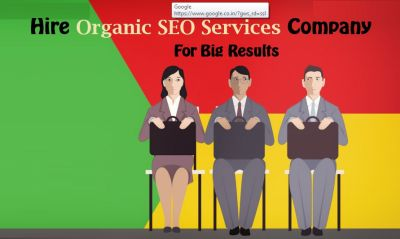 Hire Organic SEO Services Company for Big Results