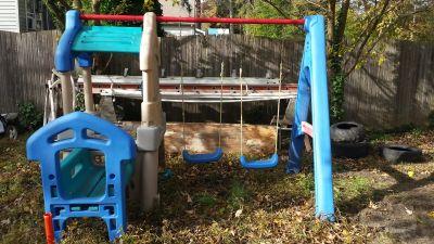step 2 toddler swingset