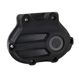Sell PM SCALLOP CABLE CLUTCH TRANSMISSION SIDE COVER BLACK OPS HARLEY 5 SPEED motorcycle in Gambrills, Maryland, US, for US $169.95