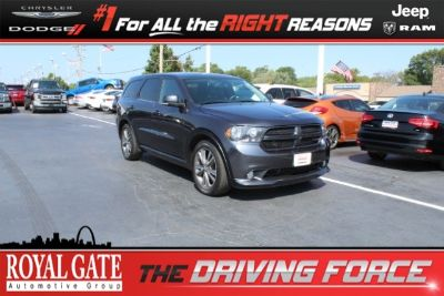 2013 Dodge Durango R/T (Steel Metallic)
