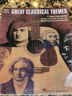 Easy Guitar Great Classical Themes