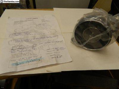 Restored 1956 Bug Speedometer