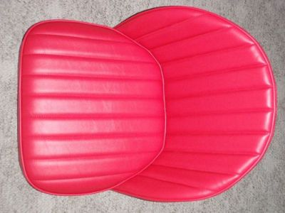 Find Hot Rat Rod PAIR Bucket Bomber Seats 32 33 34 T A Ford Car Boat MG Red motorcycle in Stillwater, Minnesota, United States, for US $209.00