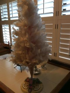 Light Pink Feather Tree