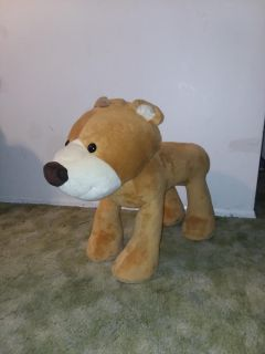 Kids sitting stool bear like new excellent condition sturdy for kids to sit on