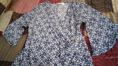 Cato top size large excellent condition $5