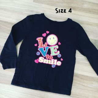 Love to Smile Top (Girls Size 4)