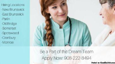 Be a Part of the Dream!  Hiring Home Health Aides - We Train!