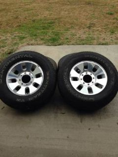 2008 Ford Factory 18 Rims and Tires