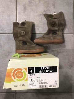 Size 4 Livie and Luca boots