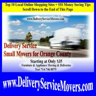 Front Top Load Washer and Gas Electric Dryer Pedestal Stackable Movers Delivery Service for Orange County
