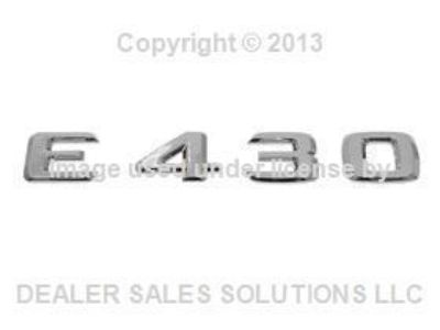 Sell Mercedes w210 (98-02) E430 Trunk Emblem Insignia oem rear decklid deck lid logo motorcycle in Lake Mary, Florida, US, for US $41.69