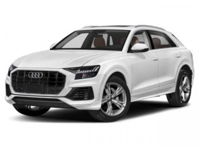 2019 Audi Q8 Premium Plus (Carrara White)