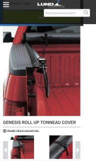 GENESIS ROLL UP TONNEAU COVER fits 6.5 bed of Chevrolet Silverado and GMC Sierra brand new. $150