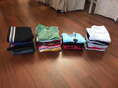 28 pieces, 5 to 6 y/old boy clothes. All in good condition