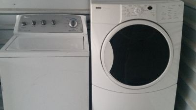 Energy star washer and dryer set