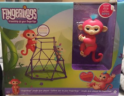 New in box fingerlings jungle gym toy