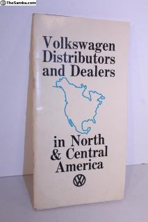 1970 North America Distributors/Dealer Guide Book