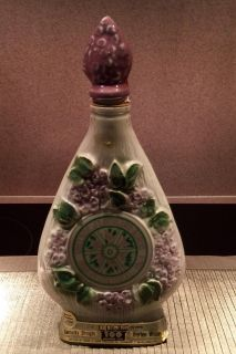 Lilac Village Jim beam decanter genuine regal china (empty) -in excellent condition