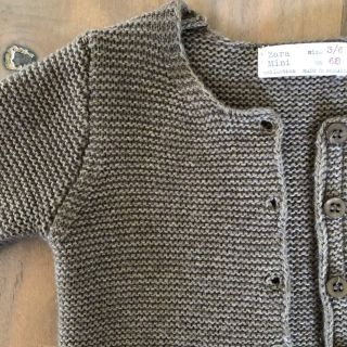Zara Knitted Cardigan in 3-6mo from Mini Collection