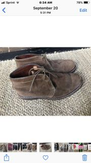 Timberland Lace up ankle boots size 10.5