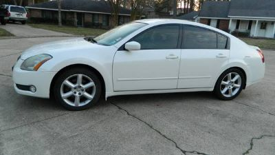 2005 NISSAN MAXIMA, (Leather - Moon Roof)