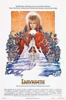 Original David Bowie Labyrinth Framed Poster