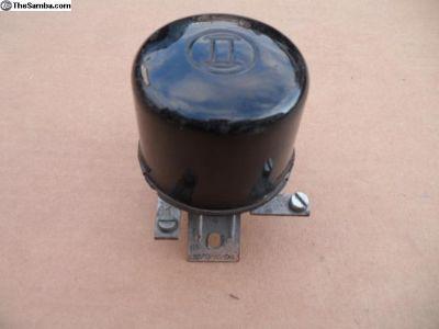 VW 1955 6 Volt Bosch Round Voltage Regulator