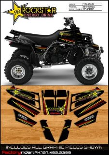 Find Yamaha Banshee Rockstar Graphics fit 1987-2006 Newest Style of Banshee Graphics motorcycle in Safety Harbor, Florida, United States, for US $44.95