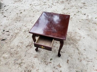 Cherry Wood End Table!