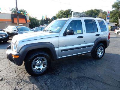 2004 Jeep Liberty Sport (Bright Silver Metallic)
