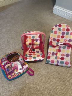 Baby doll carriers and toddler backpack
