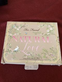 Brand new Too Face Natural Love Eye Shadow collection