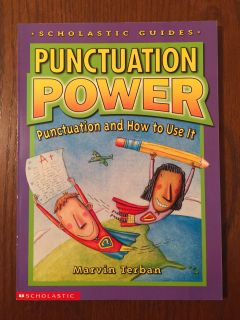 Punctuation Power book-how to use punctuation