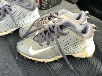 Nike Zoom Cleats. Size 11. Two pairs