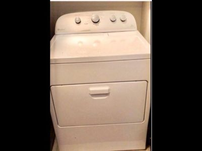 White Whirlpool High efficiency steam sensor dryer- 1 1/2 yrs old, $250.00 works great!
