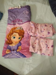 Sofia the first toddler bedding set
