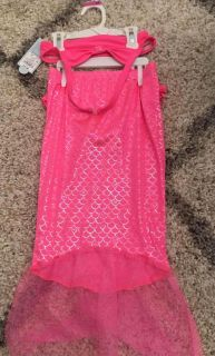 New! Cat and Jack 3 piece Mermaid bathing suit 5T $7 ppu