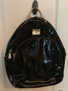 MICHAEL KORS PATENT LEATHER BACKPACK