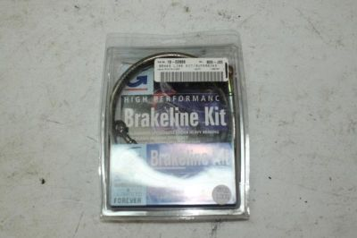 Buy Gsxr 600 750 1000 Goodridge Steel Braided Brake Lines 00 01 02 03 New motorcycle in Lancaster, California, US, for US $58.99