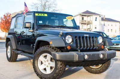 2010 Jeep Wrangler Unlimited Sport (Black)