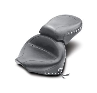 Buy Mustang 2-Piece Wide Touring Studded Seat 2000-2011 Yamaha V-Star 1100 Classic motorcycle in Ashton, Illinois, US, for US $460.00