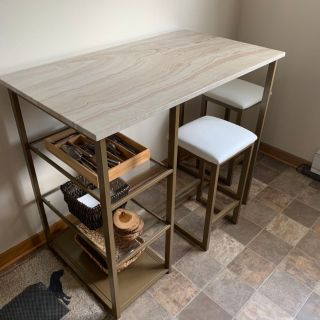 Kitchen Table Stool Set