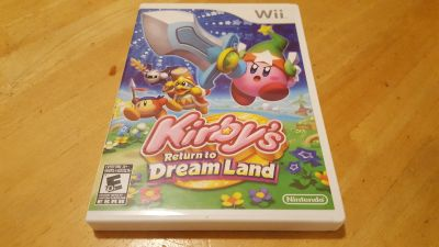 Nintendo Wii Kirby Game