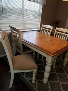 Solid Sturdy Ashley Dining / Kitchen Table