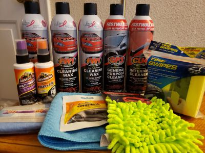 Car Wax/Cleaning Kit