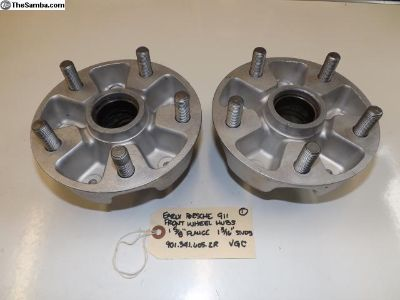 Early Porsche 356/911/912/914-6 Front Wheel Hubs