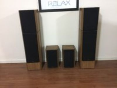 Venturi Surround Sound Speakers - fronts and rears