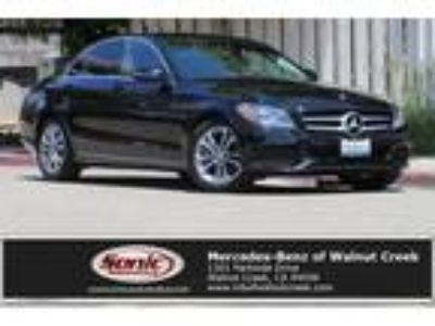 Used 2016 Mercedes-Benz C-Class Black, 22.7K miles